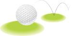 Golf ball for tournament